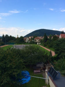 Tišnov with Květnice hill in back.