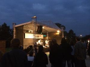 Live music at slavnosti pivo.