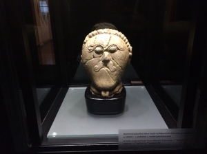 Celtic Head figurine from Mšecké Žehrovice