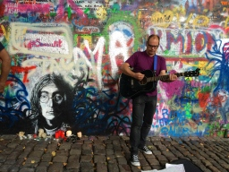 A Good Match Photo Challenge: the Lennon Wall in Prague