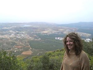Close to the Israeli-Lebanon border on Mt. Meron, circa 2012.