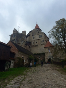 Outside of the Castle.