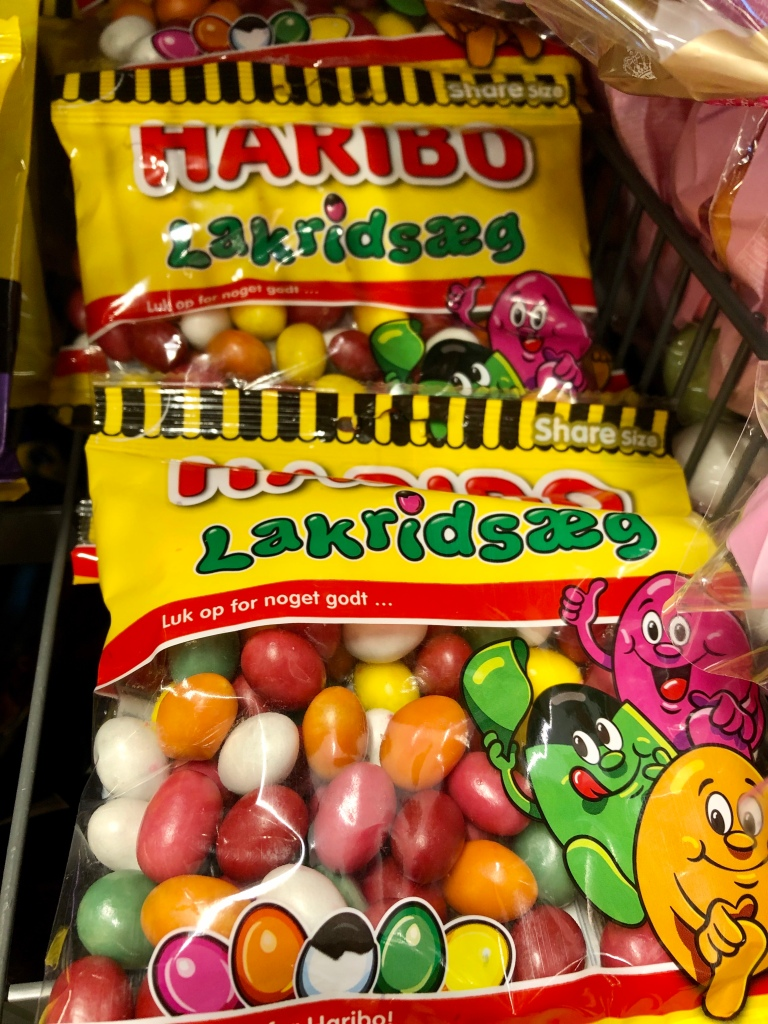 Danish Easter candy Haribo lakridsaeg