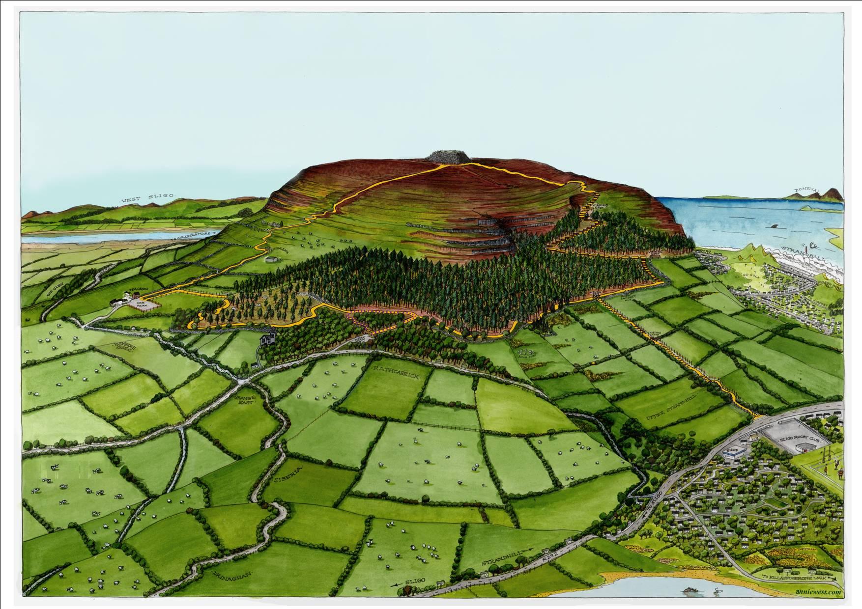 Knocknarea/Queen Maeve Trail Co. Sligo — Annie West